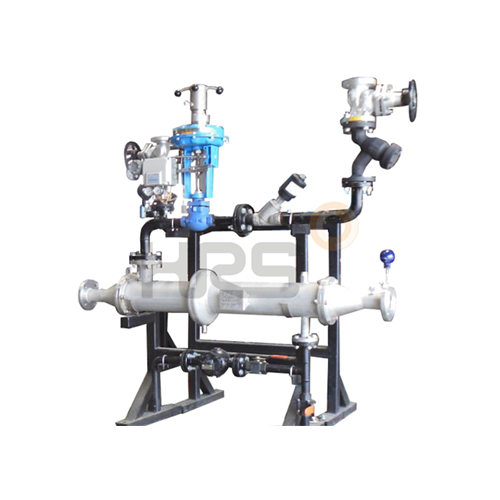 ECOFLUX* corrugated tube heat exchanger skid based point of use (POU) instant hot water generator for industrial processes